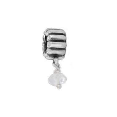 Pandora cristal de roca transparente.
