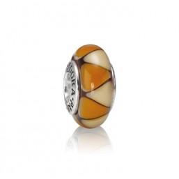 Pandora Captivating amber charm murano