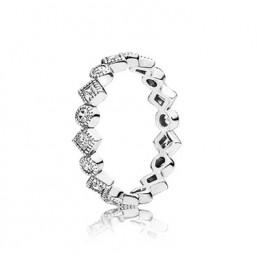Pandora anillo Brilante Seducción Princesa