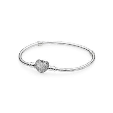 Pandora Moments Corazón en pavé