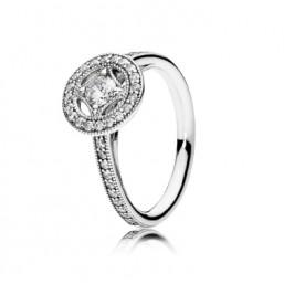 "Pandora anillo en plata ""Seducción Vintage"" talla 14."