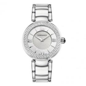 Versace Leda reloj de mujer en acero