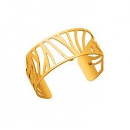 Les Georgettes brazalete Perroquet dorado de 25mm