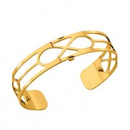 Les Georgettes brazalete Infini dorado de 14mm
