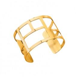 Les Georgettes brazalete Labyrinthe de 40mm en dorado