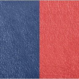 Les Georgettes cuero de 40 mm reversible en color Azul Petróleo y Frambuesa