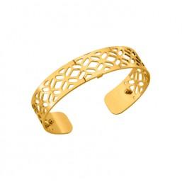 Les Georgettes brazalete Alhambra de 14mm en dorado