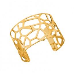 Les Georgettes brazalete Girafe de 40 mm en dorado mate