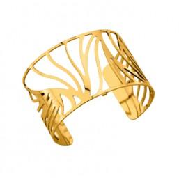 Les Georgettes brazalete Perroquet de 40 mm en dorado