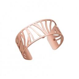Les Georgettes brazalete Perroquet de 25 mm en oro rosa