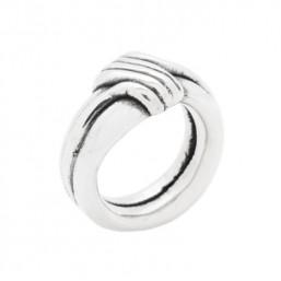 Plata Pura anillo liso de la Colección Danan.