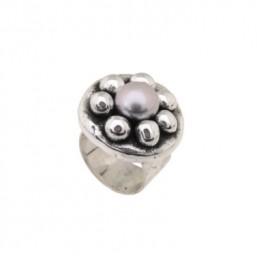 Plata Pura anillo en plata.
