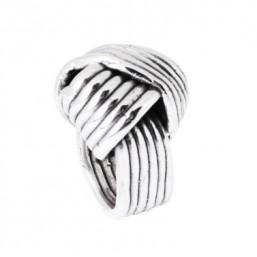"""Plata Pura """"Ovillo"""" anillo de mujer en plata."""