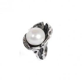 Labruixeta anillo de mujer en plata.