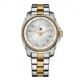 """Tommy Hilfiger reloj de mujer """"Kelsey"""" en acero bicolor."""