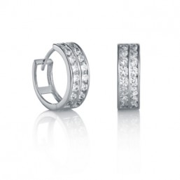 Viceroy Jewels pendientes de aro en plata.