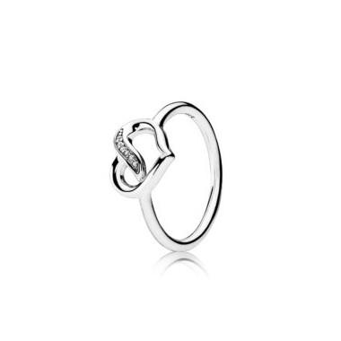 """Pandora """"Lazos de Amor"""" anillo"""