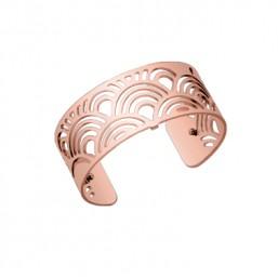 """Les Georgettes brazalete """"Poisson"""" en rosa de 25mm"""