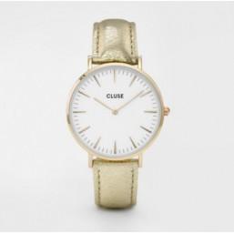 Cluse Bohème Gold Metallic reloj de mujer.