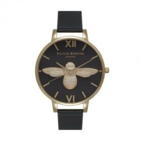Olivia Burton Animal Motif Big Dial reloj de mujer en piel.