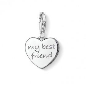"Thomas Sabo charm ""My best Friend"" para pulsera."