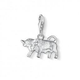 Thomas Sabo charm en plata Signo del Zodiaco Tauro.