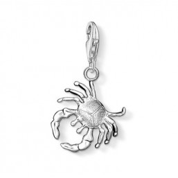"Thomas Sabo charm ""Cancer"" en plata."