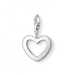 Thomas Sabo charm de corazón para pulsera en plata.