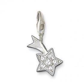 """Thomas Sabo charm """"Estrella"""" en plata y circonitas."""