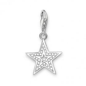 "Thomas Sabo charm ""Glitter Star"" en plata."