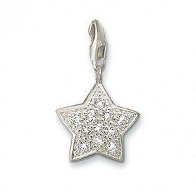 Thomas Sabo charm de estrella para pulsera en plata.