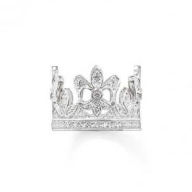 """Thomas Sabo anillo """"Corona"""" en plata."""