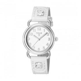 Tous Baby Bear reloj analógico de niña en piel blanca.