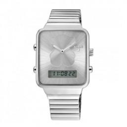 Tous I-Bear reloj analógico y digital de acero.