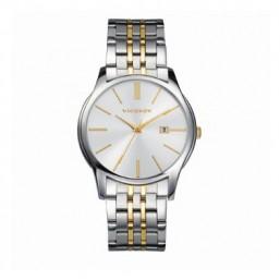 Viceroy reloj analógico de caballero en acero bicolor.