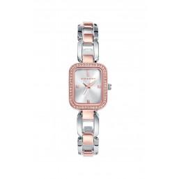 Viceroy reloj analógico de mujer en acero bicolor.