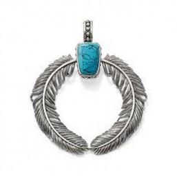 Thomas Sabo colgante para collar en plata.