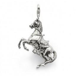 Thomas Sab colgante de Caballo para collar en plata.