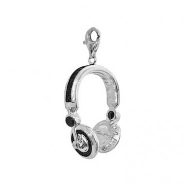 Thomas Sabo colgante para collar con forma de Auriculares en plata .