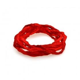 Thomas Sabo cinta de seda en color rojo.
