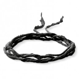 Thomas Sabo cinta de seda en color negro.
