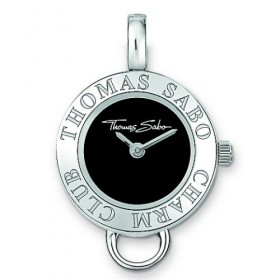 Thomas Sabo reloj para collar en plata del Club Charm.