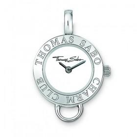 Thomas Sabo colgante de reloj para collar en plata del Club Charm.