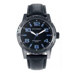 Viceroy reloj de caballero con correa de piel.