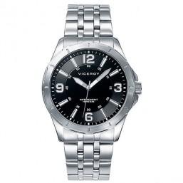 Viceroy reloj analógico de caballero con brazalete de acero.