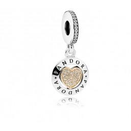Pandora Corazón Logo de Pandora