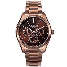 Viceroy reloj deportivo de caballero en acero con acabado rosa.