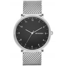 Skagen Hald reloj analógico de caballero en acero.