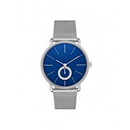 Skagen Hagen reloj analógico de caballero con esfera azul.