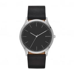 Skagen Jorn reloj analógico de caballero en piel.